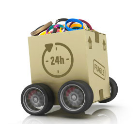 Wristband Package on Wheels